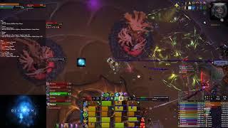 FatSharkYes vs Stormwall Blockade Mythic - Resto Druid Pov