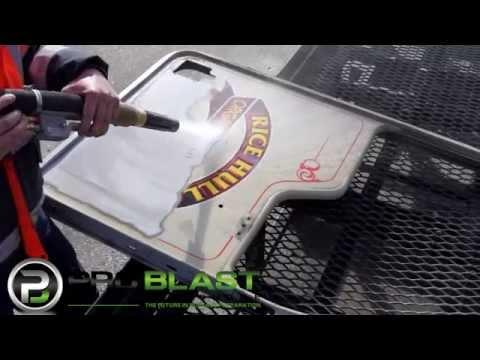 Blasting aluminium doors without warping - ProBlast Melbourne Dustless Blasting