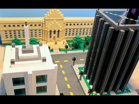 LEGO Minecraft City