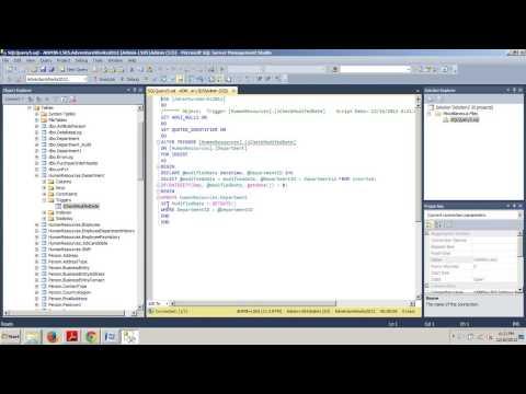SQL Server tutorial 68: Altering Triggers