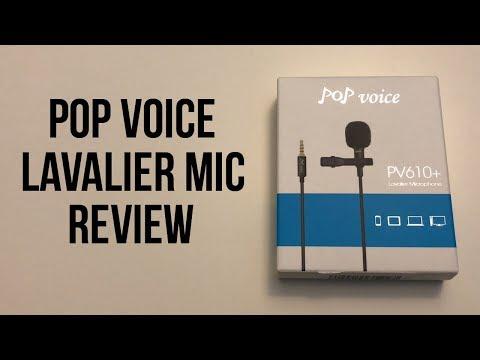 PoP Voice Lavalier Microphone Review