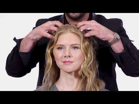 Second Day Hair Waves - How to Create Wavy Hair - Goldwell Kerasilk Products - TheSalonGuy