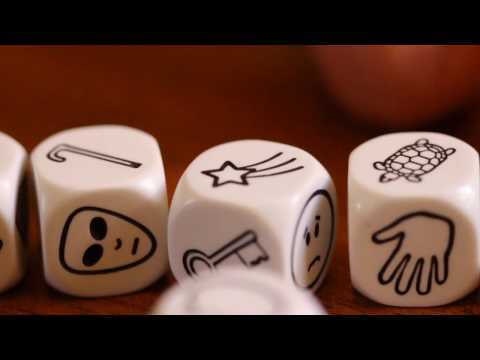 Rory's Story Cubes® - Roll the Cubes and Create your own stories.