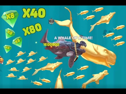 Hungry Shark Evolution - *MOBY DICK VS BIG DADDY!!!* - +30.000.000 MILLION POINTS *NEW UPDATE*