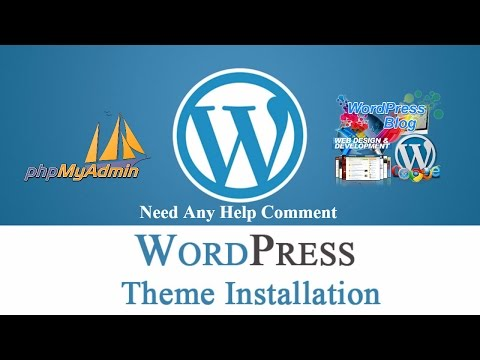 How to  install WordPress and phpmyadmin Database creation Step by Step Tutorial