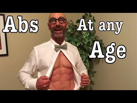 Six pack Abs at any Age! Build abs and core at home or the gym, into your 40's, 50's and 60's.