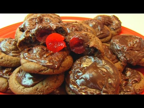 Betty's Fancy Chocolate-Covered Cherry Cookies
