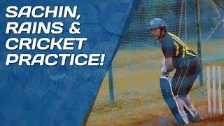 Sachin Tendulkar practices in the rain   #FlashbackFriday