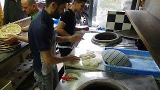 Is this the Worlds FASTEST Naan Bread Maker? Tandoori Master Baker at Shadi Bakery, Croydon, London.