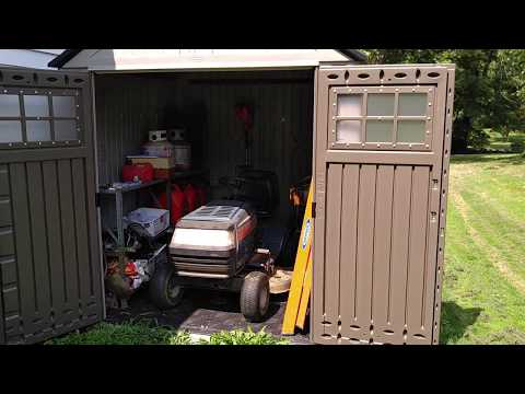 Rubbermaid 7x7 big max shed review