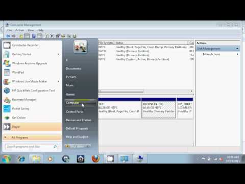 How to Change Drive Letter in Windows 7