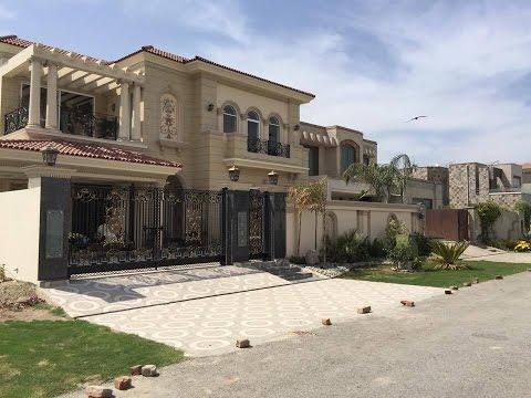 Masha Allah Kanal Brand New Spanish House is ready for sale in DHA Phase 6 Lahore.