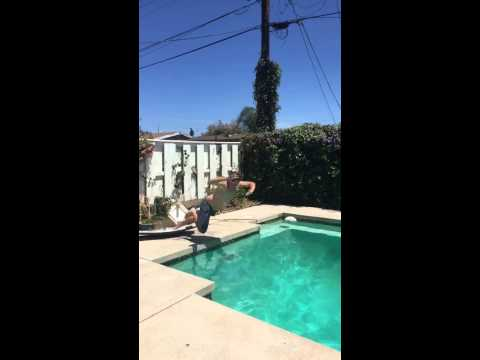 DIY Diving Board Goes Wrong