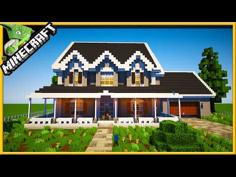 How to Build a House In MINECRAFT - SPEEDBUILD:SECRETS REVEALED!! + DOWNLOAD