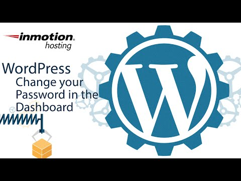 How to Change Your WordPress Password in the Dashboard