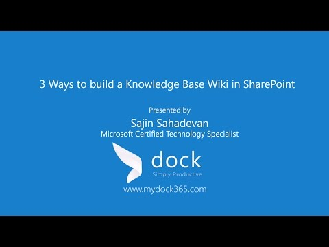 How to Build Knowledge Base Wiki in SharePoint in Different Ways?