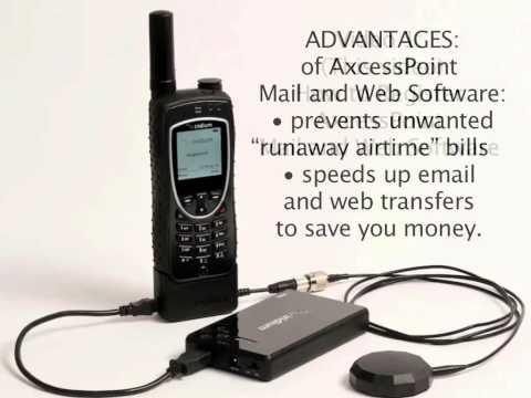 How to Do Satellite Phone Email & Web via Iridium Wi-Fi Hotspot for iPod, iPad, Android - 1