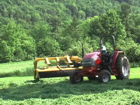Mowing Hay on Myers Farm