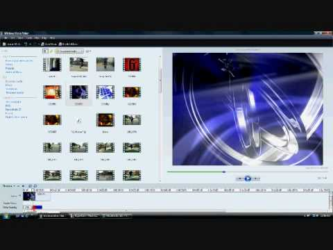 How to create an intro with windows movie maker