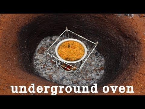 AMAZING UNDERGROUND OVEN COOKING !!! SPECIAL TANDOORI BIRYANI  IN UNDERGROUND OVEN