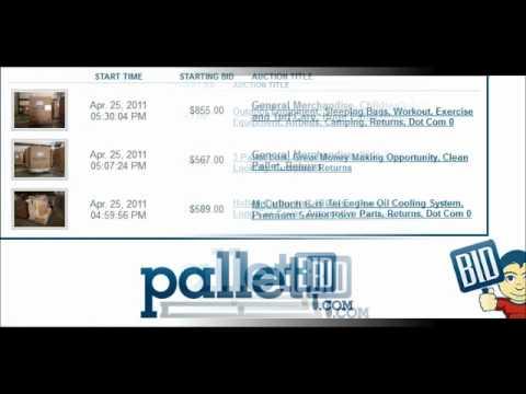 Buy Store Returns, Closeout, Overstock, Truckload Salvage, Liquidation - PalletBid.com