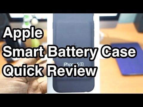 Apple Smart Battery Case Quick Review