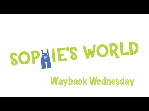 How to Wrap a Present - Another Wayback Wednesday | Sophie's World
