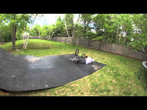 BMX Double Backflip - Andy's Yard