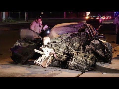 Moreno Valley: High Speed Fiery Crash