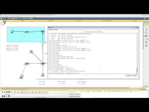 Packet Tracer Lab 6 - Remote Access VPN