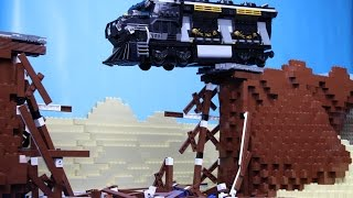 Lego Train Crash