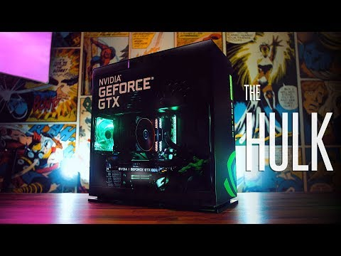 The HULK - My New Video Editing & Gaming PC Build | 2018 Montage