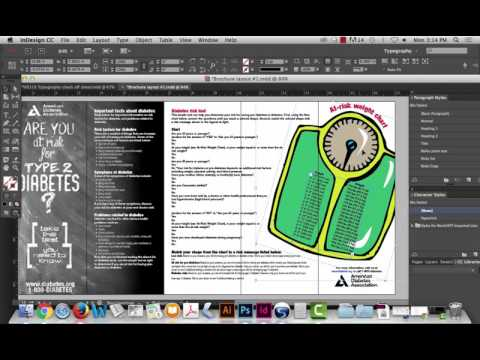 InDesign: Tabs, Paragraph Rule Removal, Removing Hyperlinks