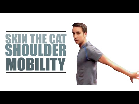 Skin The Cat Shoulder Mobility (How to get better shoulder extension)