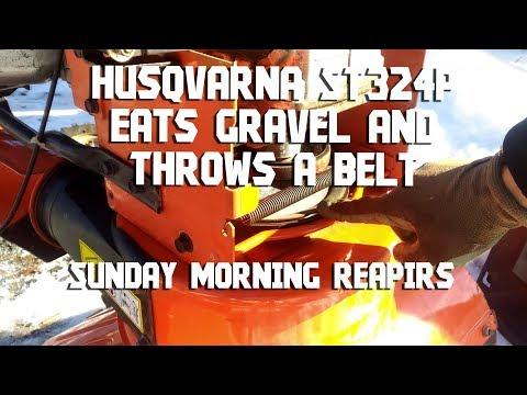 Husqvarna ST324P Snowblower Auger Belt