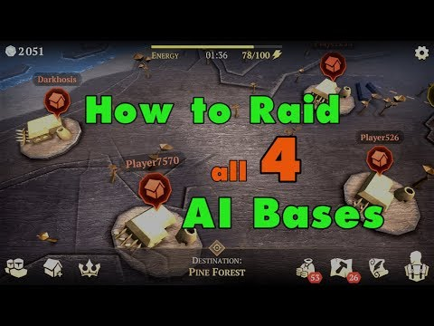 How to Raid ALL 4 Of Your Neighbors' AI Bases in Grim Soul Survival (v.1.0.6) (Vid#137)