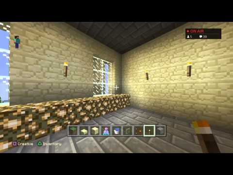 Minecraft Hogwarts Build LIVE