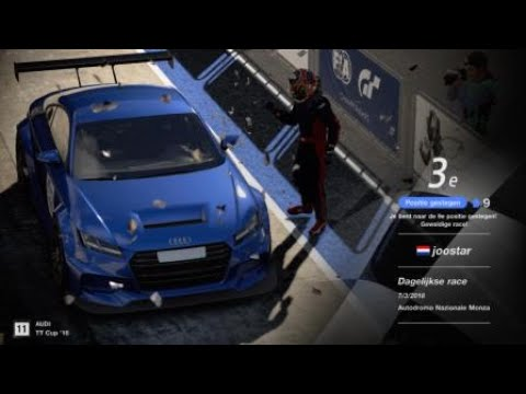 Gran Turismo SPORT LUCKY 3TH at DAILY RACE MONZA