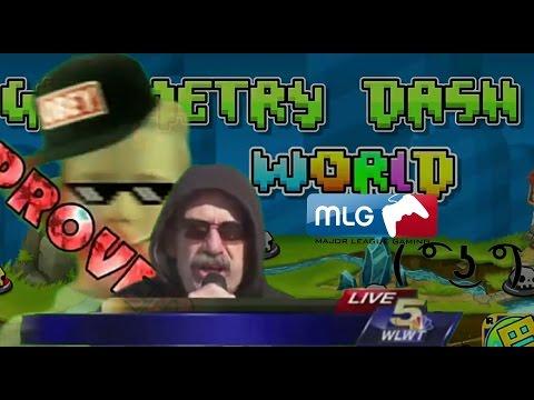 Robtop needs money - MLG Geometry Dash World Full Video