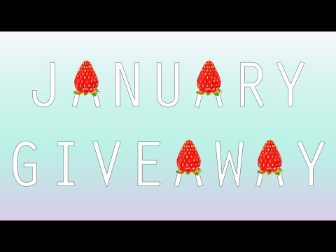 January Giveaway! 2018 (CLOSED) || Maive Ferrando