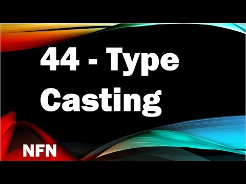 java tutorials urdu NFN 44 Type Casting