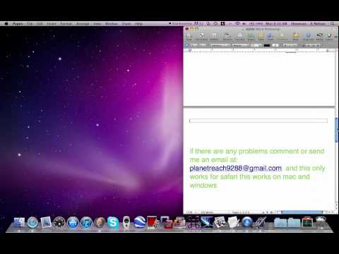 how to have the safari welcome page as you homepage