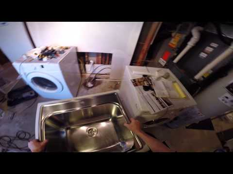 How To Install A Laundry Sink