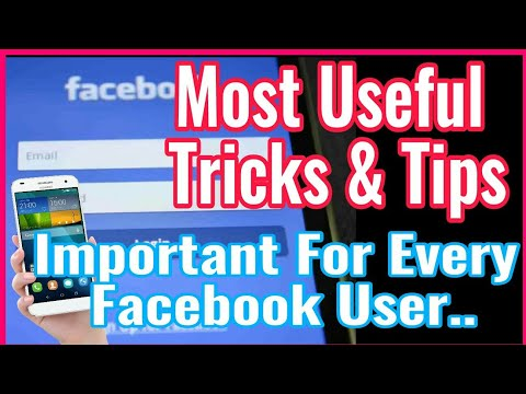 Most Useful Tricks & Tips For Every Facebook User || Facebook Important Tricks & Tips | Faceboo Tips