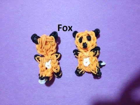 How to Make a Fox on the Rainbow Loom - Original Design