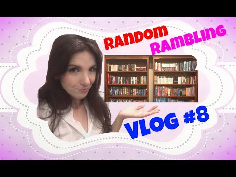 VLOG #8 - Re-arranging my bookshelves / my book collection overview
