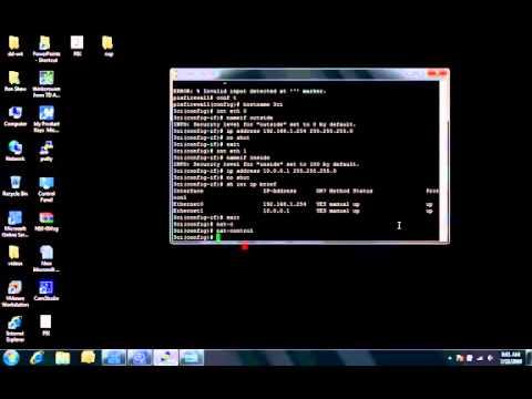 Basic configuration steps for a Cisco PIX Firewall