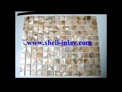 shell mosaic tiles.wmv