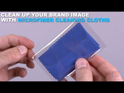 Clean Up Your Brand Image with Microfiber Cleaning Cloths