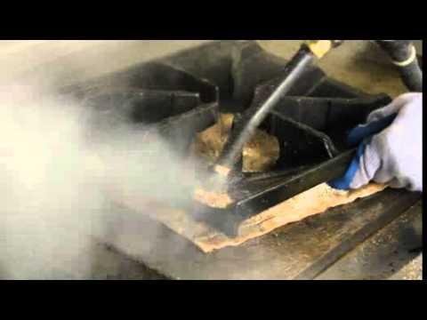 Oven Burner Cleaning